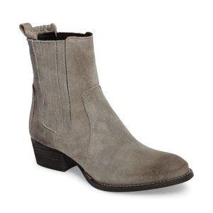 Splendid Shoes - Splendid River Chelsea Gray Suede Bootie 8M